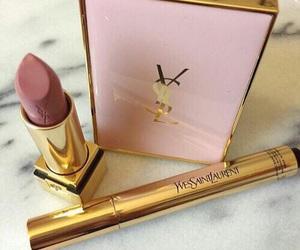 YSL, makeup, and lipstick image