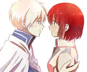 anime, shirayuki, and akagami no shirayukihime image