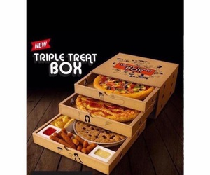 pizza, food, and pizza hut image