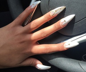 nails, girly, and claws image