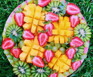 bright, fruit, and summer image