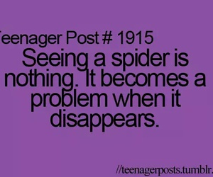 spider, teenager post, and funny image