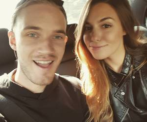 couple, pewdiepie, and love image