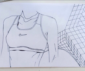 nike, art, and drawing image