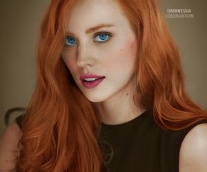 deborah ann woll and redhead image