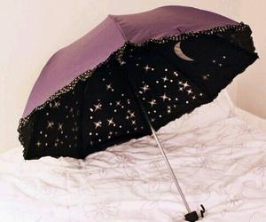umbrella, stars, and moon image
