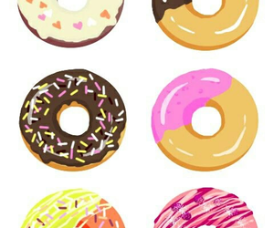 donuts, frosting, and wallpapers image