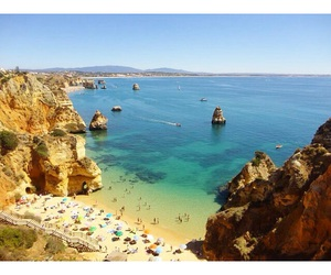 algarve, beach, and beautiful image