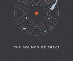 space, planet, and sound image