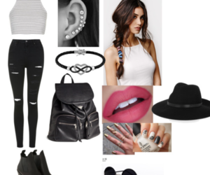 girls, mode, and Polyvore image