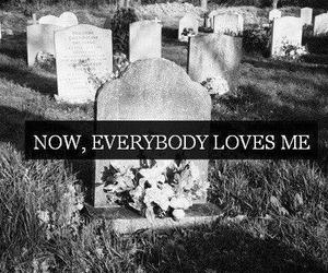 sad, dead, and death image