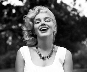Marilyn Monroe, smile, and beauty image