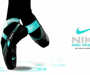 ballet, nike, and shoes image