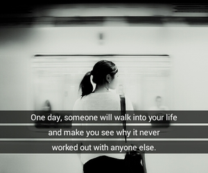 blackandwhite, life, and quotes image
