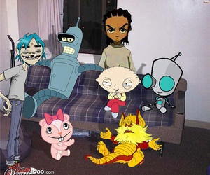 Bender, stewie, and adultswim image