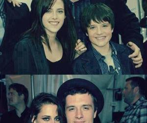 kristen stewart, josh hutcherson, and twilight image