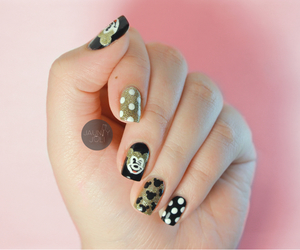 nail, nail polish, and nails image