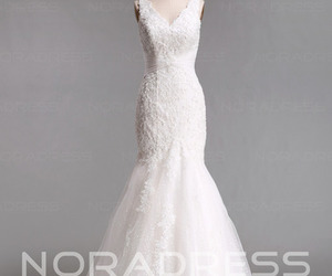 fashion, women, and wedding dress image