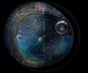 cosmos, space, and universe image
