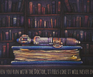 doctor who, river song, and the doctor image