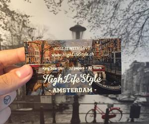 amsterdam, love, and weed image