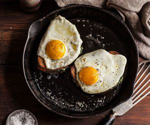 breakfast, egg, and morning image