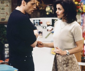 friends, joey tribbiani, and monica geller image