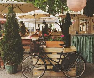 bike, cool, and street image
