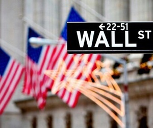 new york, wall street, and city image