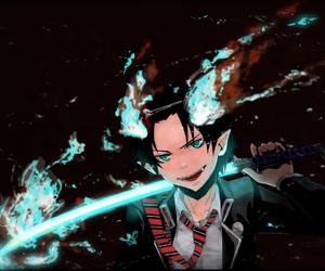 anime, rin okumura, and blue exorcist image