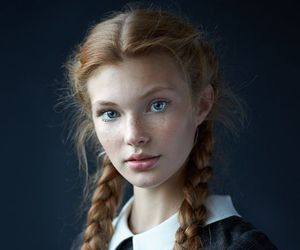 girl, beauty, and braid image