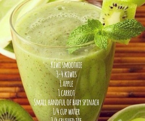 healthy, smoothie, and fit image