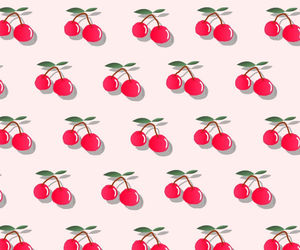background, cherry, and pink image
