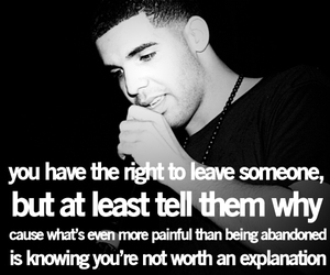 Drake, quote, and true image