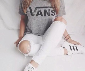 beautiful, vans, and fashion image