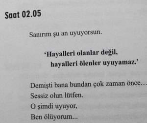 tumblr, sözler, and turkce image