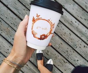 autumn, coffee, and style image