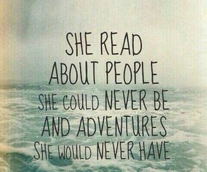 book, quotes, and adventure image