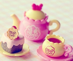 cute, toys, and pink image