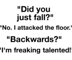 funny, quote, and fall image