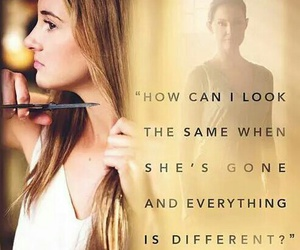 divergent, insurgent, and Shailene Woodley image