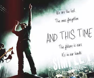 simple plan and one image