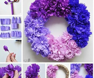 diy, decoration, and flowers image