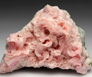 pink, minerals, and rose image