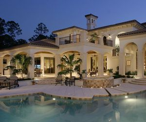 house, luxury, and outdoors image