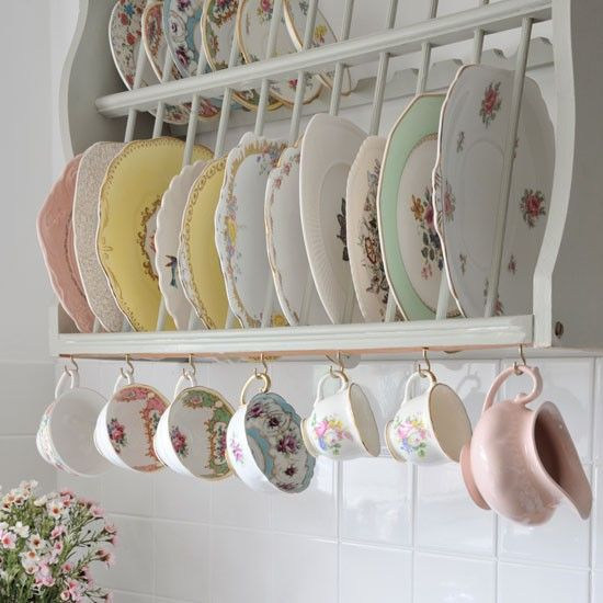 cups, plates, and vintage image