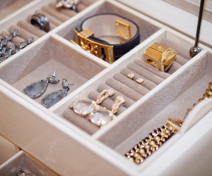 gold, luxury, and accessories image