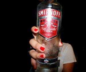vodka, smirnoff, and alcohol image