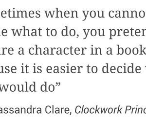 books, quotes, and cassandra clare image