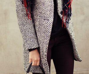 fashion, coat, and bag image